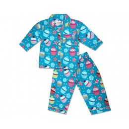 Cupcake and Candies Nightsuit - Kids