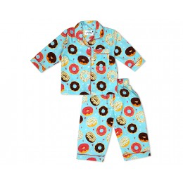 Donuts with colorful glazing Nightsuit - Adults