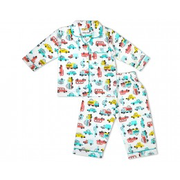 Doodle Toy Car Nightsuit - Adults