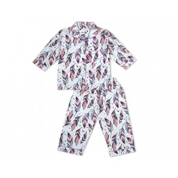 Ethnic Feathers Nightsuit - Kids