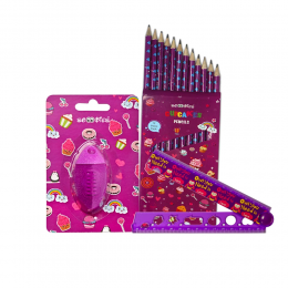 All In 1 Stationery -Purple