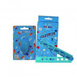 All In 1 Stationery - Blue