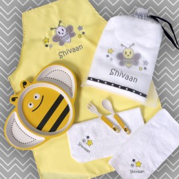 Bee Happy! 7 pc Meal Set