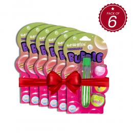 Bundle Of 6 Touchable Bubbles - Green