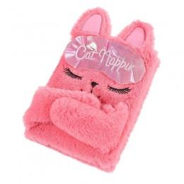 Cat Eye Mask Plush Diary