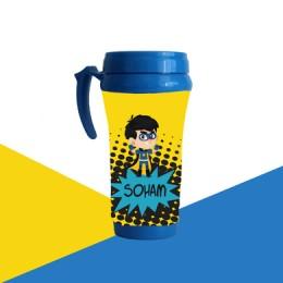 Comic Superhero Theme Mug
