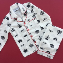 Crowns Pyjama Set - For Adults