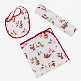 Dear Santa Muslin Gift Set