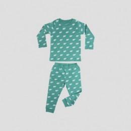 Elephant Long Sleeve T-shirt & Leggings in Sage