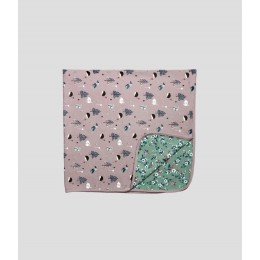 Flower Swaddle Blanket