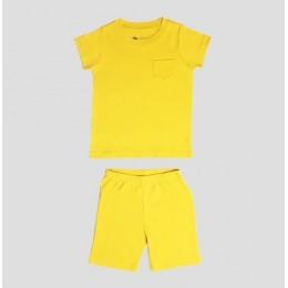Half Sleeve T-shirt & Sporty Shorts – Honey