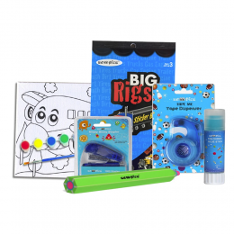 Kids Busy Mommy Happy - Blue