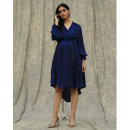 Lapis Shirt Dress
