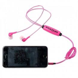 Led Earphones - Pink