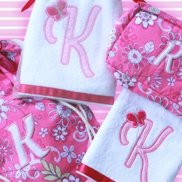 Letter Love - 4 pc Pink Set
