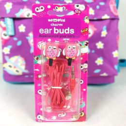 Owl Charm Earbuds
