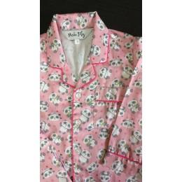 Pink Baby Panda Pyjama Set - For Adults
