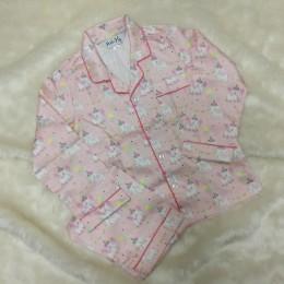 Pink Party Elephants Pyjama Set - For Adults