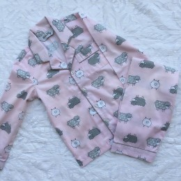 Pink Sheep Pyjama Set - For Adults