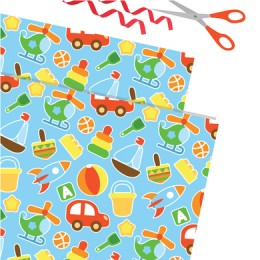 Toy Theme Gift Wrapping Paper