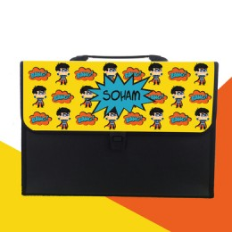 Comic Superhero Theme Folder