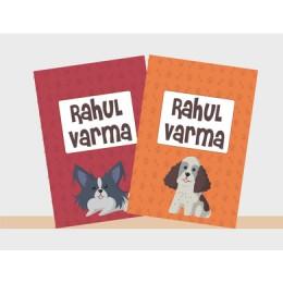 Doggie Love Theme Notebook