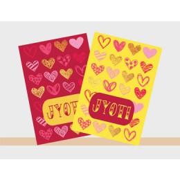 Heart Theme Notebook