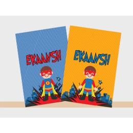 Superhero Theme Notebook