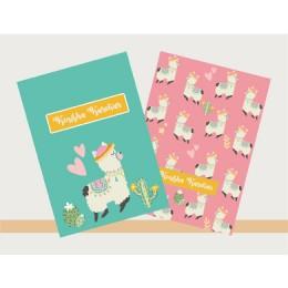 Llama Theme Notebook