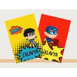 Comis Superhero Theme Notebook