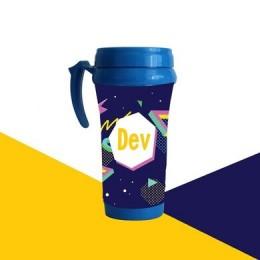 Retro Pop Theme Mug