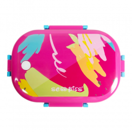 Scoo Yum 3d Lunchboxes Pink