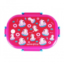 Scoo Yum Dino Lunchboxes Pink