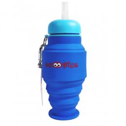 Silicone Bottles Blue