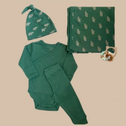 Welcome Baby Box – Green
