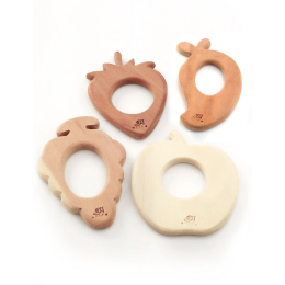 Wooden Teethers - Fruits
