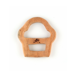 Wooden Teethers - Square and Cup Cake