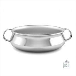 Sterling Silver Bowl for Baby and Child - 123 Feeding Porringer