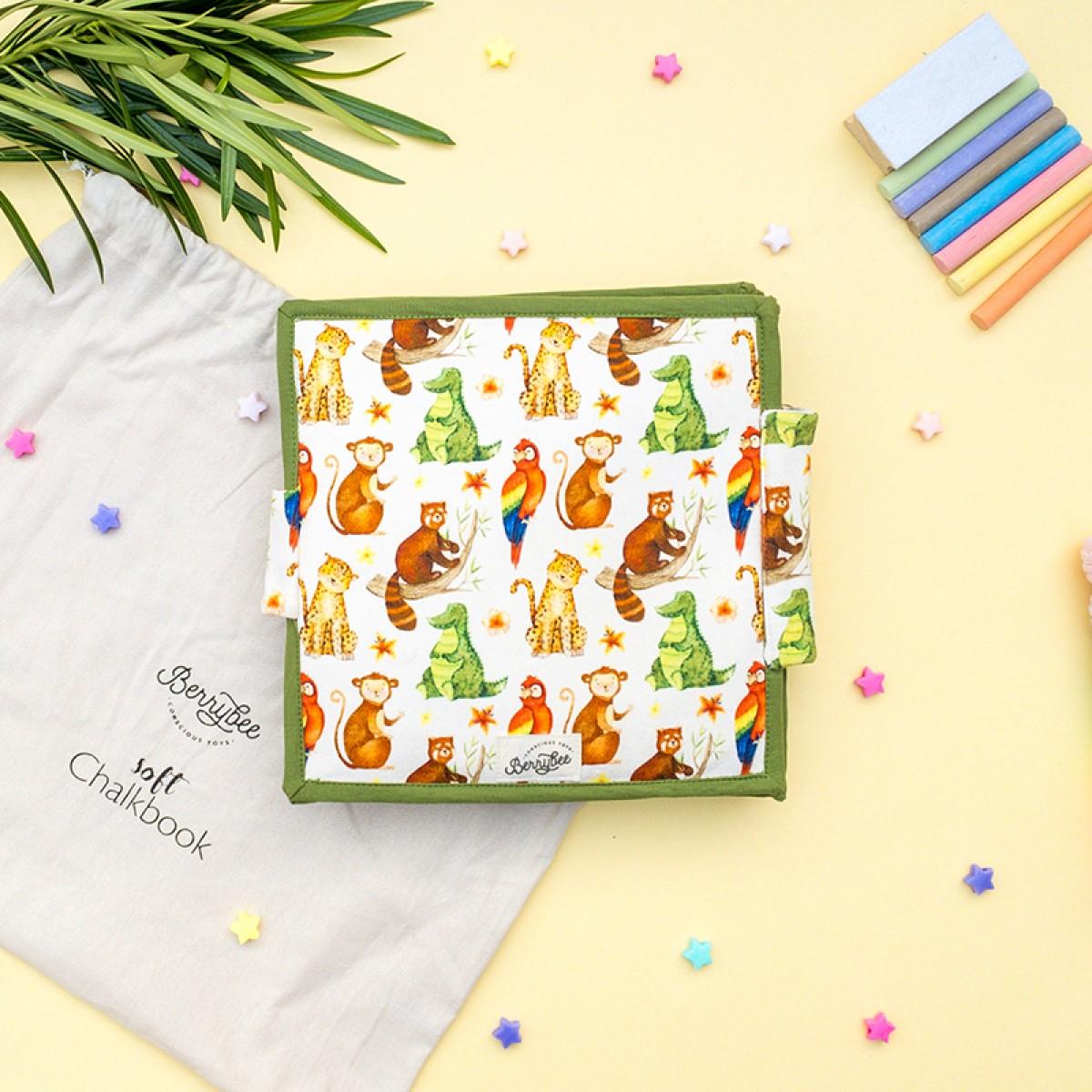 Animal Soft Chalkbook