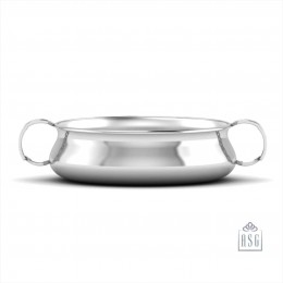 Sterling Silver Bowl for Baby and Child - ABC Feeding Porringer
