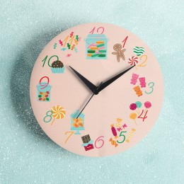 Candies Wall Clock