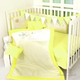 Cuddly Teddy - 5 pc Bedding Set