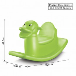 Duck Rocker - Parrot Green