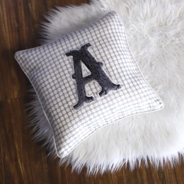 Furry Letter Fun - Cushion for Baby