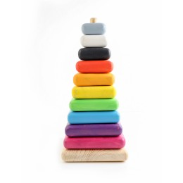 Giant Stacking Toy - Colored