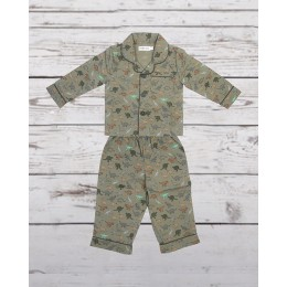 Green Dinosaur Nightsuit