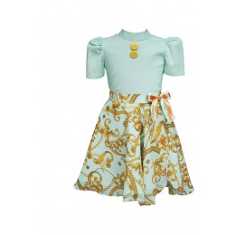Jade Dragonfly Co-ord Skirt Set