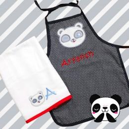 Panda Fun Apron - 2 to 5 years