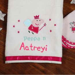 Peppa n Me Bath Towel