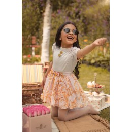 Pink Dragonfly Co-ord Skirt Set